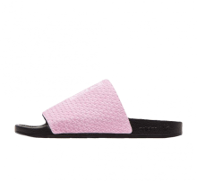 Adidas Women's Adilette Luxe Clear Pink/Core Black