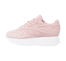 Reebok Women's Classic Leather Double Smoky Rose/White