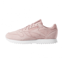 Reebok Women's Classic Leather Ripple Smoky Rose/White