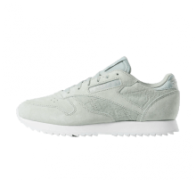 Reebok Women's Classic Leather Ripple Sea Spray/White