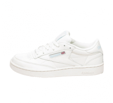 new arrival 3b802 7f2fe Reebok Club C 85 MU Classic White Denim Glow