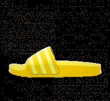 Adidas Women's Adilette Yellow/Semi Frozen Yellow