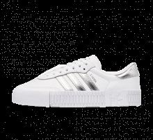 Adidas Women's Sambarose Footwear White/Silver Metallic