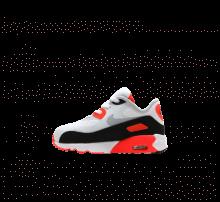 Nike Infant Air Max 90 Ultra 2.0 White/Wolf Grey-Bright Crimson-Black