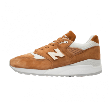 New Balance Made in the USA M998TCC Rust Brown/White