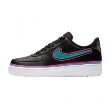 Nike Air Force 1 '07 LV8 Sport Black/Blue Gale-Laser fuchsia