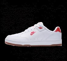 Nike Grandstand II Premium White/University Red-Gum