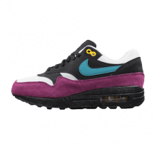 Nike Women's Air Max 1 Black/Geode Teal-Bordeaux