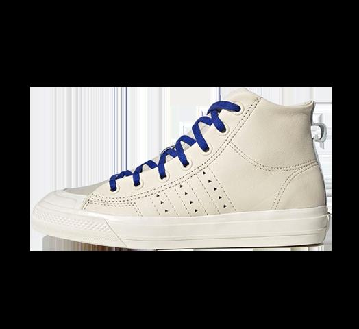 Adidas x Pharrell Williams HU Nizza Hi Ecru TIntCream White FX8010