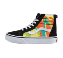 Vans SK8-Hi Zip Pop Camo Blazing Yellow/True White