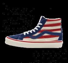 Vans Sk8-Hi DX Anaheim Factory OG Blue/OG Red Stripes