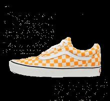 Vans Comfycush Old Skool Checkerboard Zinnia/True White