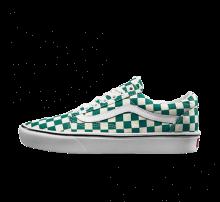 Vans Comfycush Old Skool Checkerboard Quetzal/True White