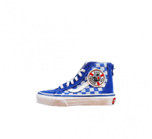 Vans x Discovery Shark Week Sk8-Hi Zip Blue/True White