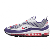 Nike Women's Air Max 98 White/Racer Pink-Reflect Silver-Black