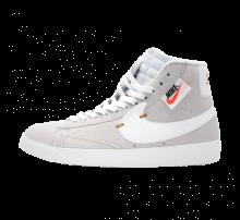 Nike Women's Blazer Mid Rebel Off White/Summit White-Pure Platinum