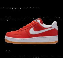 Nike Women's Air Force 1 '07 Premium Habanero Red/White-Gum