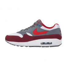 Nike Air Max 1 White/University Red-Cool Grey