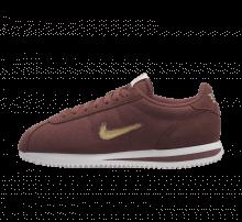 Nike Women's Cortez Basic Jewel '18 Red Sepia/Metallic Gold Star