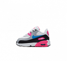 Nike Air Max 90 Leather TD White/Photo Blue-Pink Blast