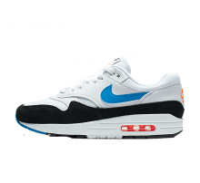 Nike Air Max 1 White/Photo Blue-total Orange