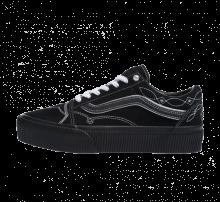 Vans Women's Old Skool Platform Pearly Punk/Black