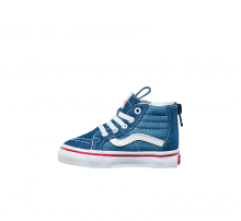 Vans SK8-Hi Zip Denim 2-Tone Blue/True White