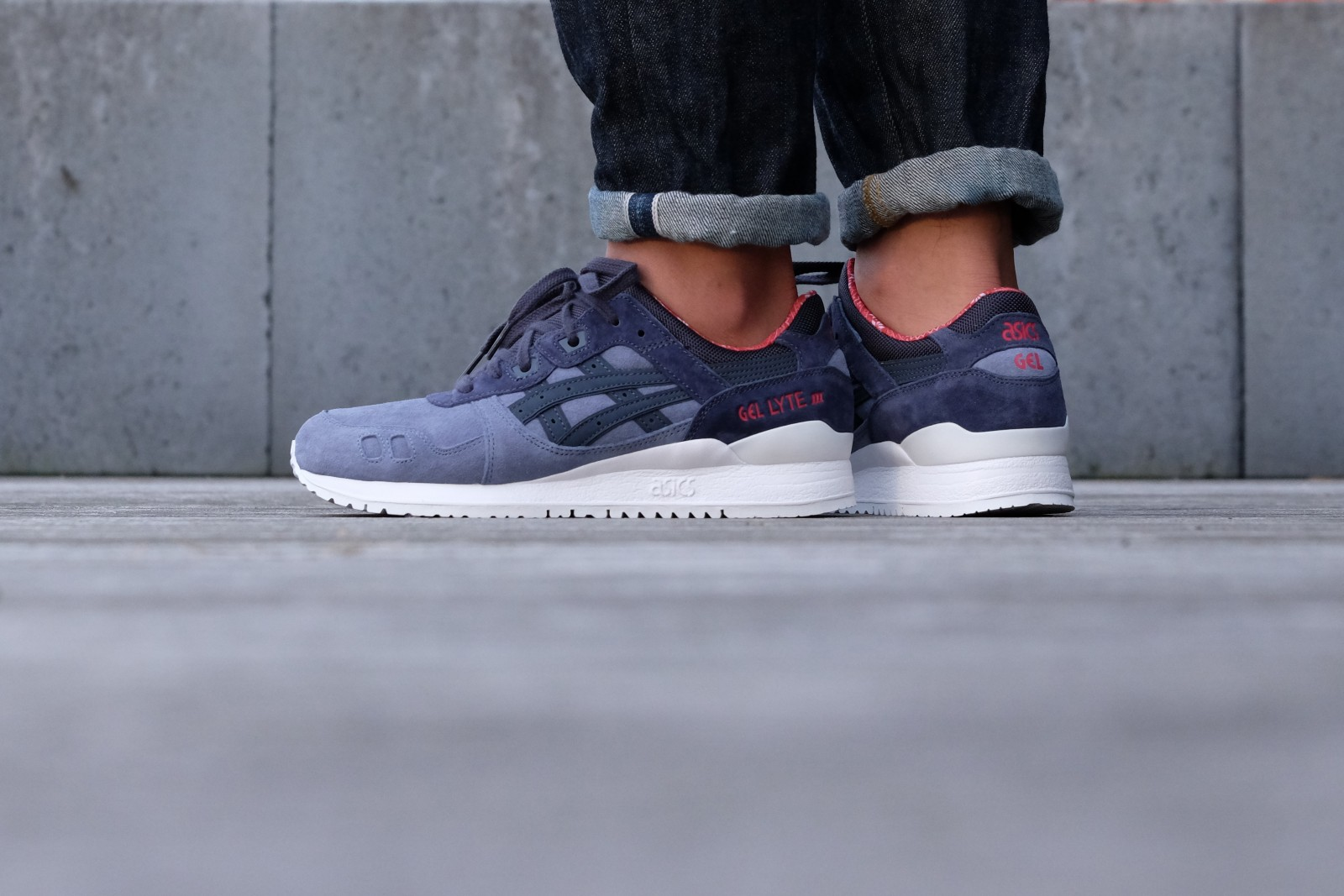 Asics Gel Lyte III | Blue | Sneakers | H6X4L 4650 | Caliroots