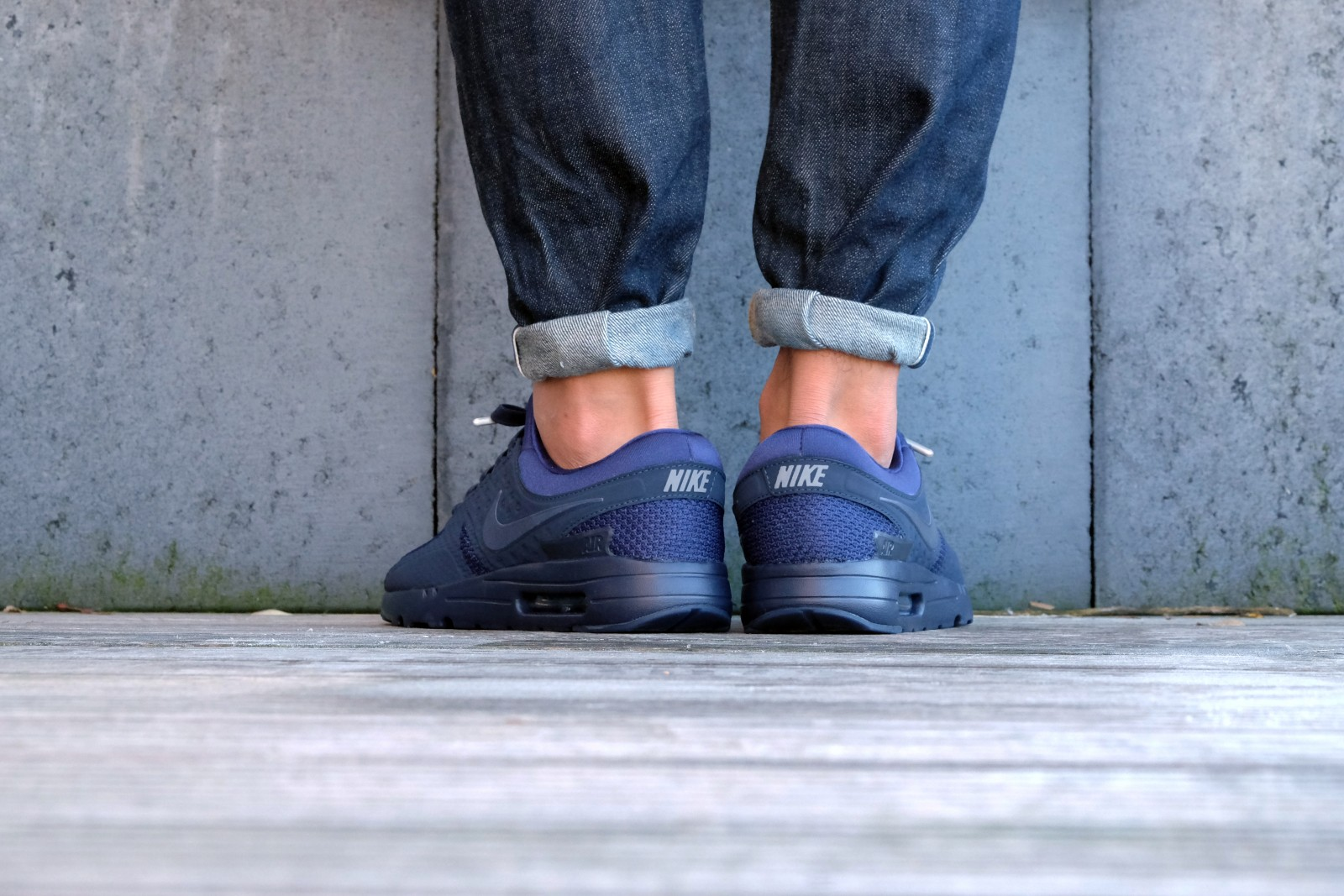 Nike Air Max Zero QS Binary BlueObsidian Blue Fox Cool Grey 789695 400