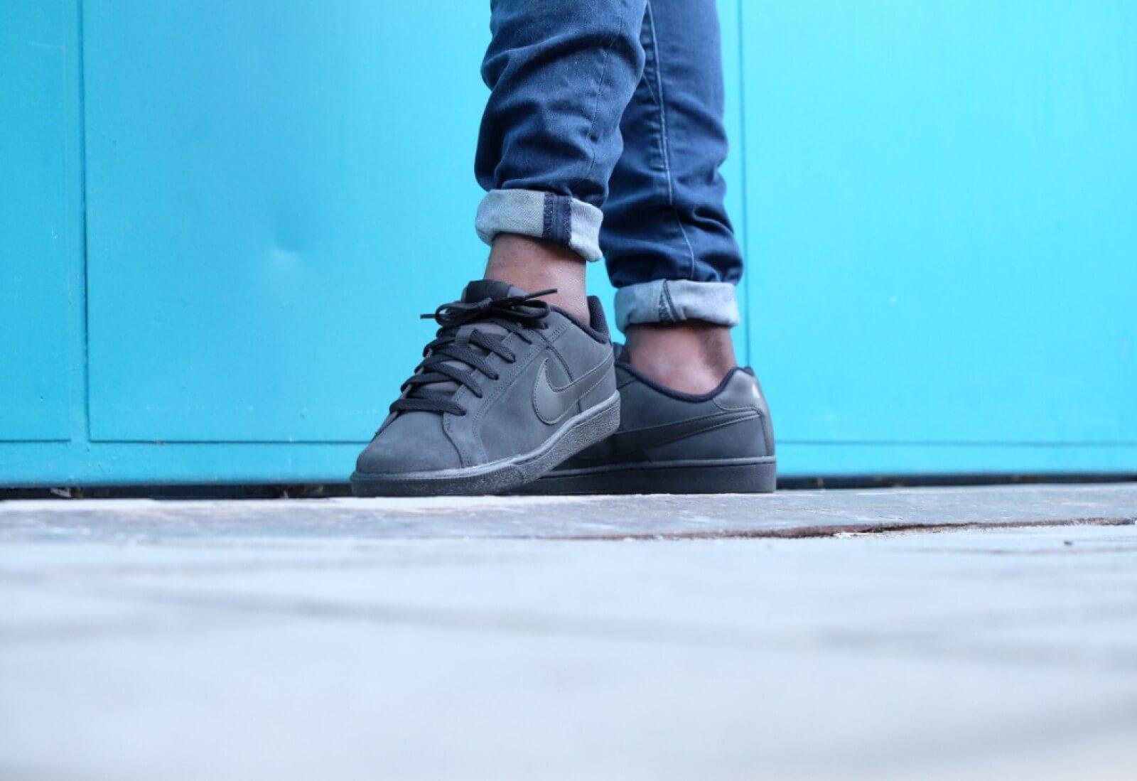 Nike Court Royale Suede Black/Black