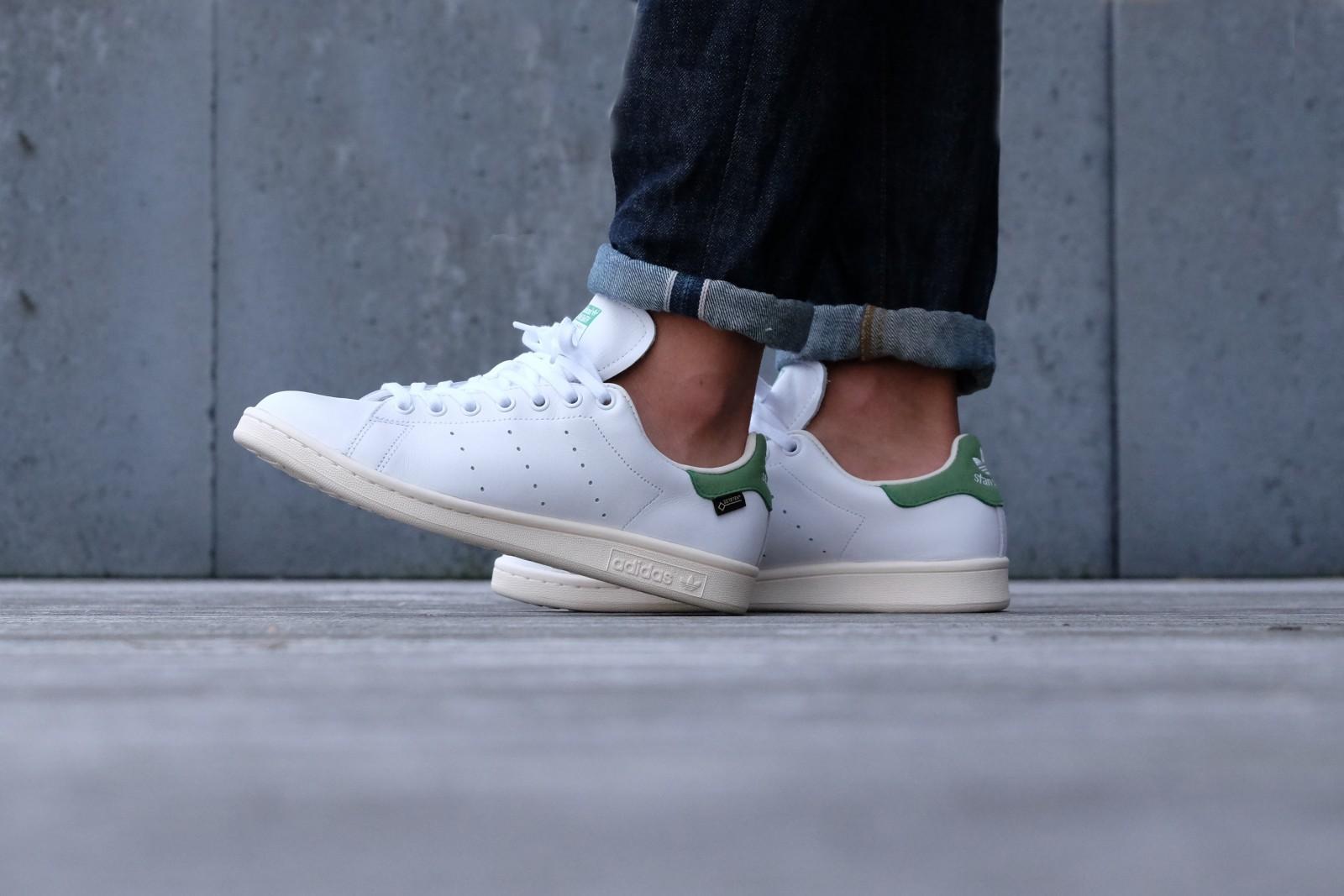 Adidas Stan Smith Gore Tex Footwear White Green S80049