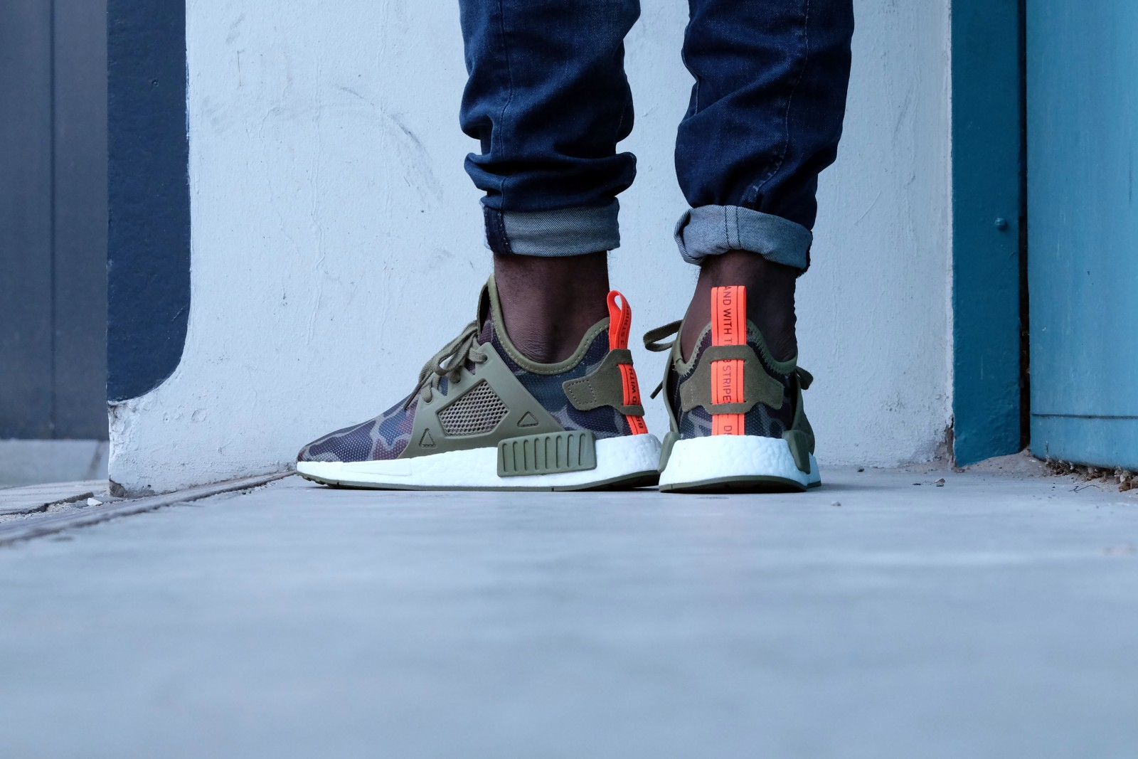 Adidas NMD XR1 - Olive Cargo / Core Black