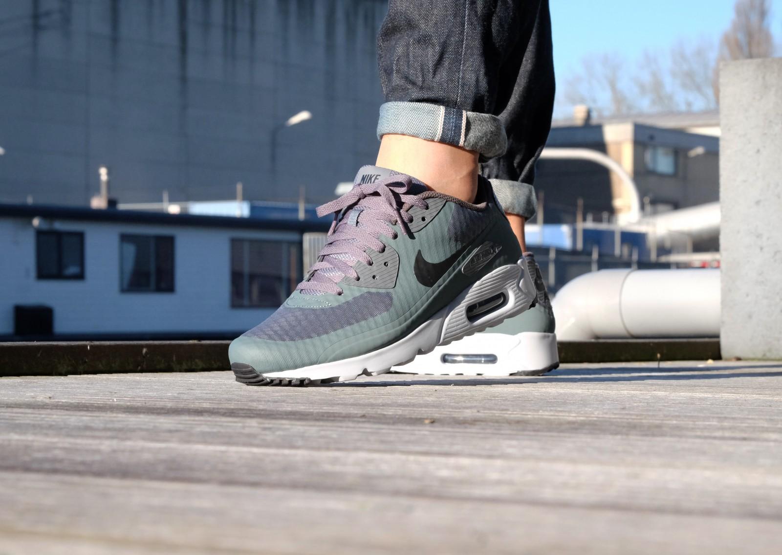 Nike Air Max 90 Ultra Essential Hasta/Black - Dark Grey - Pure Platinum