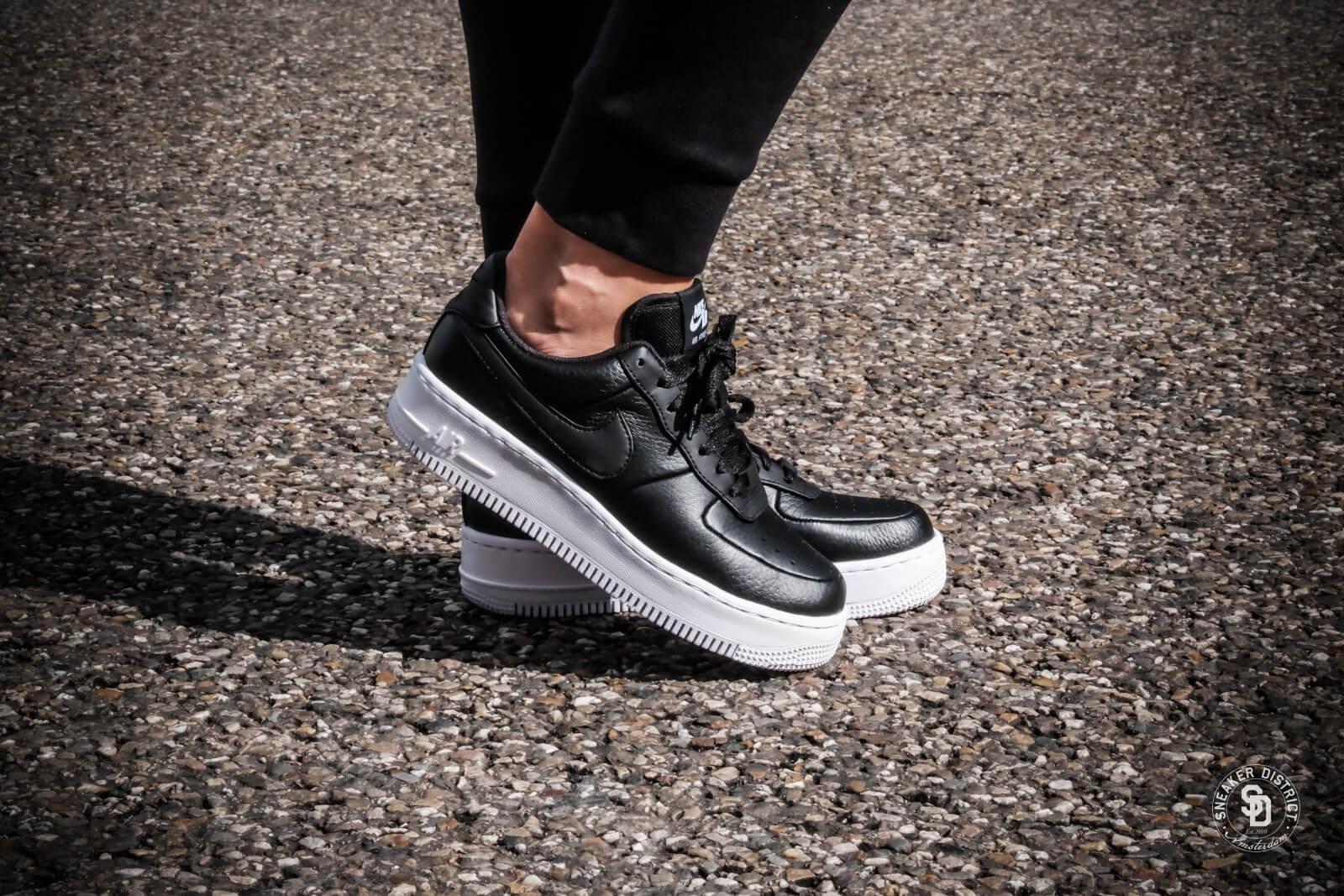 Nike Women's Air Force 1 Upstep Black