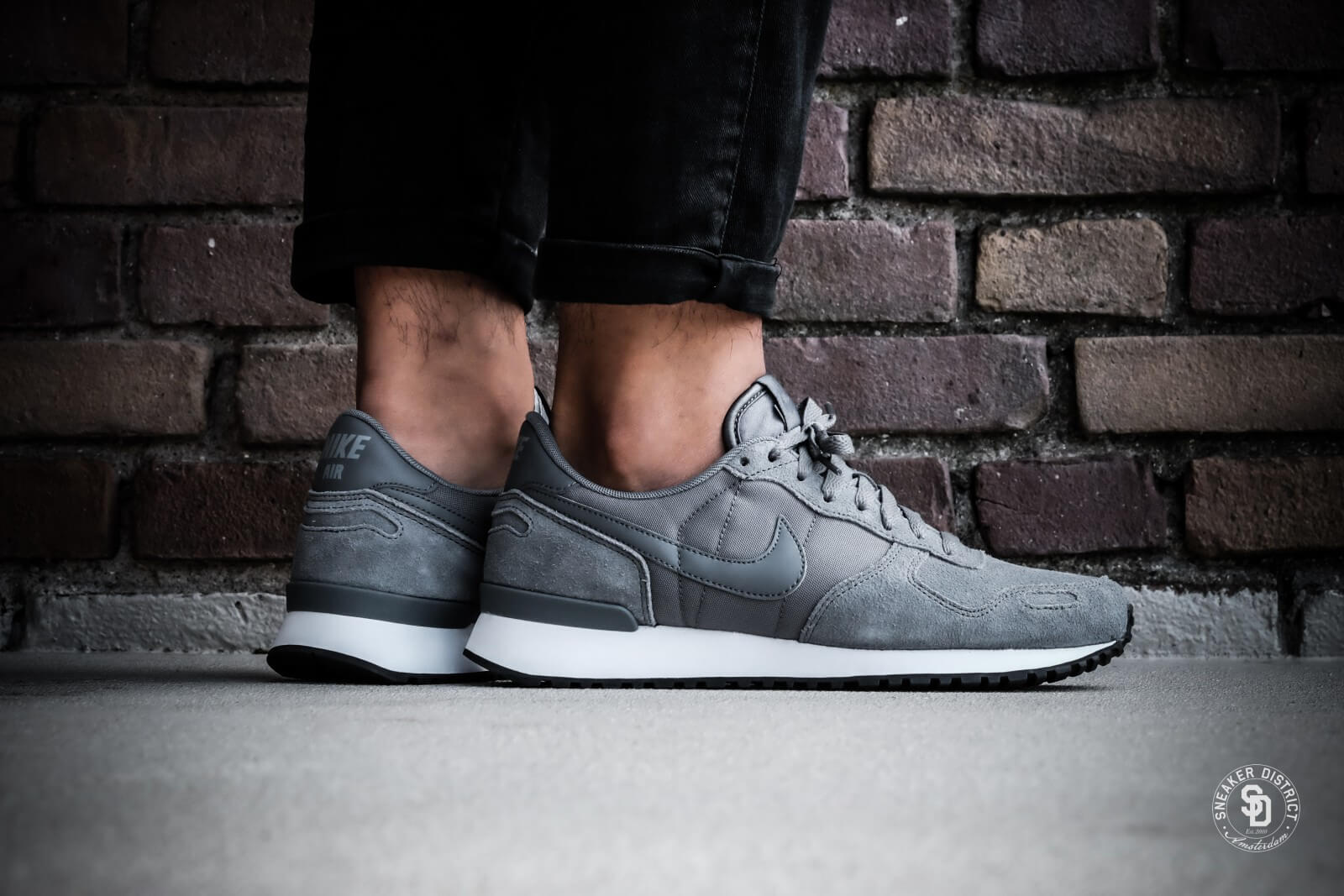 Estribillo invadir Festival  Nike Air Vortex Leather Cool Grey/White-Black - 918206-002