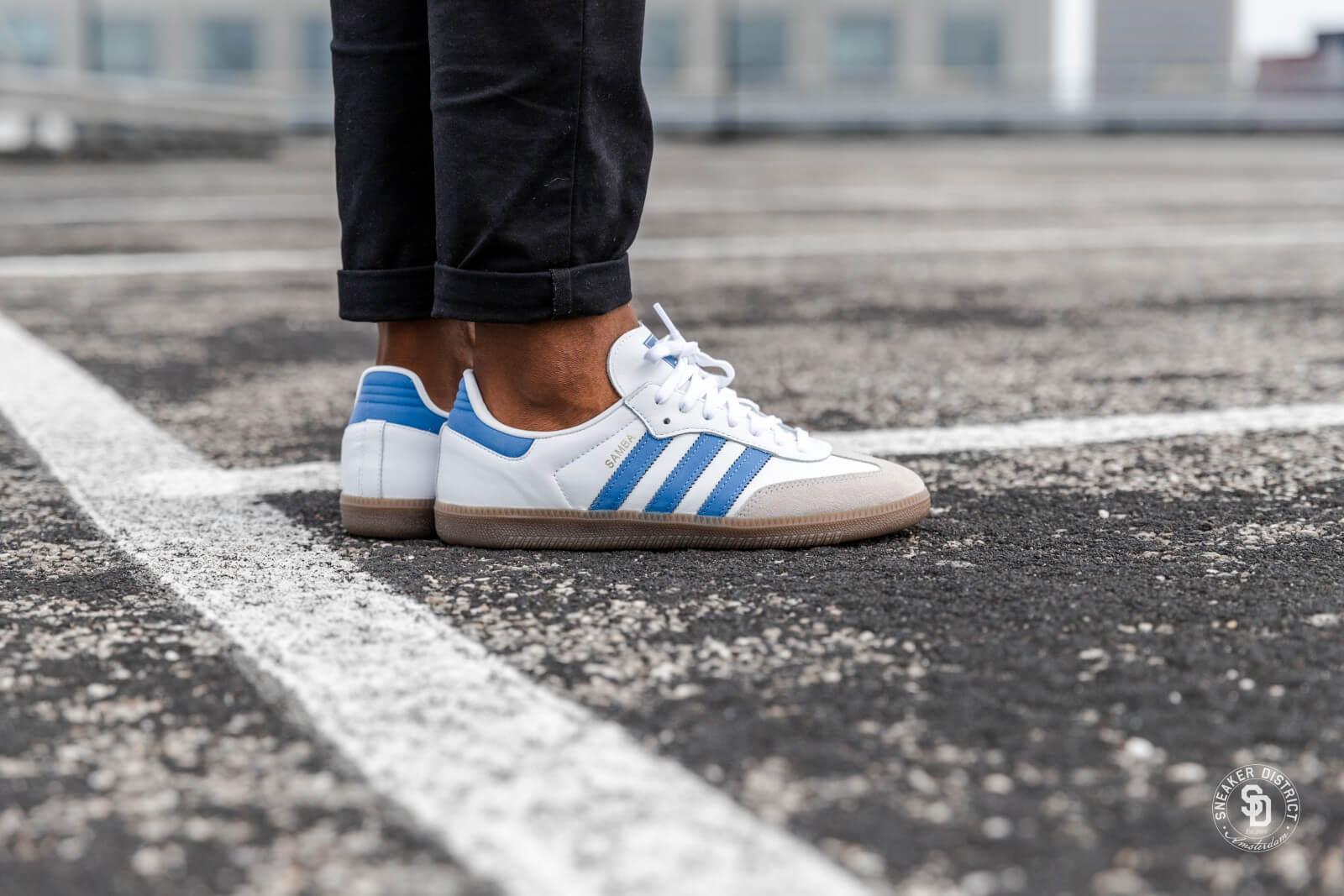 Adidas Samba OG Footwear WhiteTrace Royal B44629