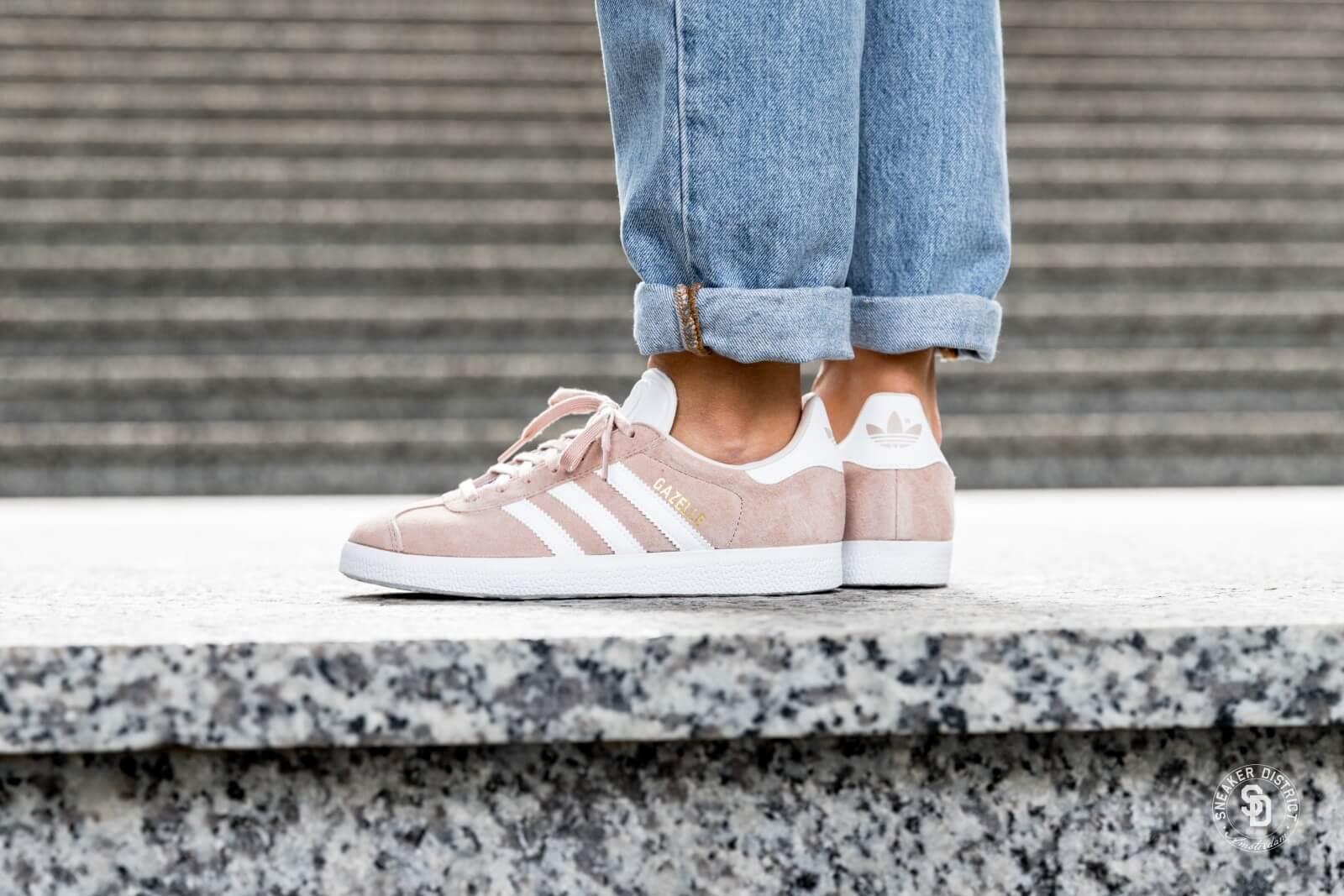 Adidas Women's Gazelle Ash Pearl/Footwear White/Linen