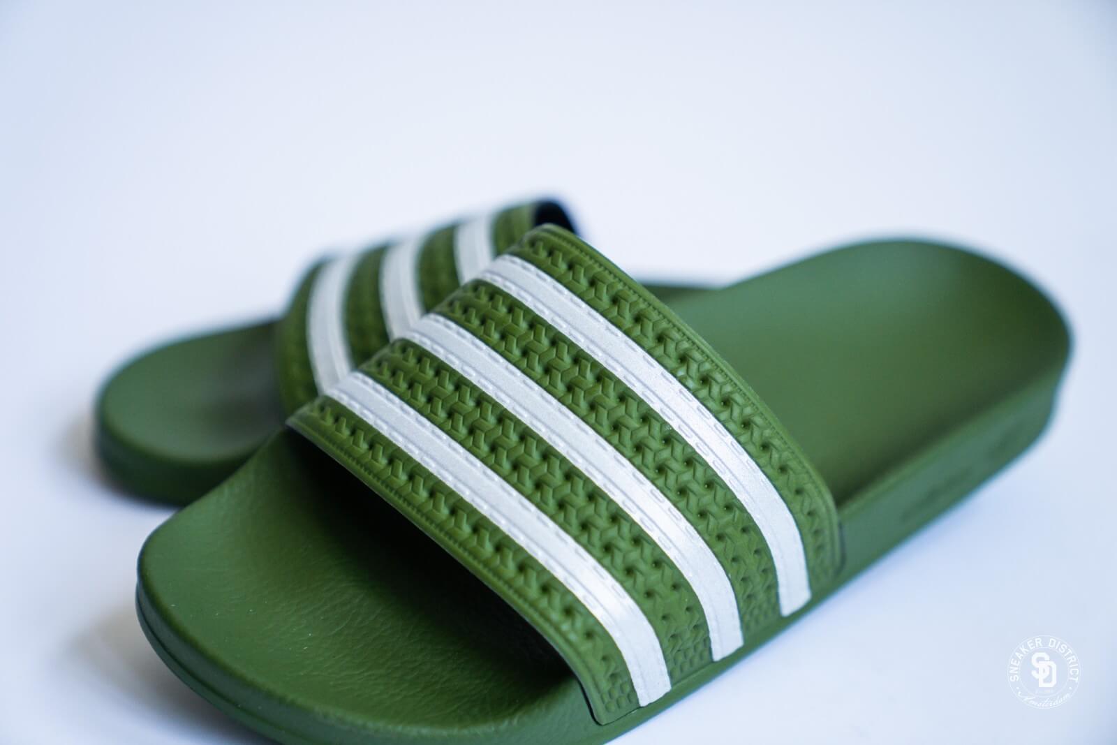 Adidas Adilette Green/Grey - EE6183