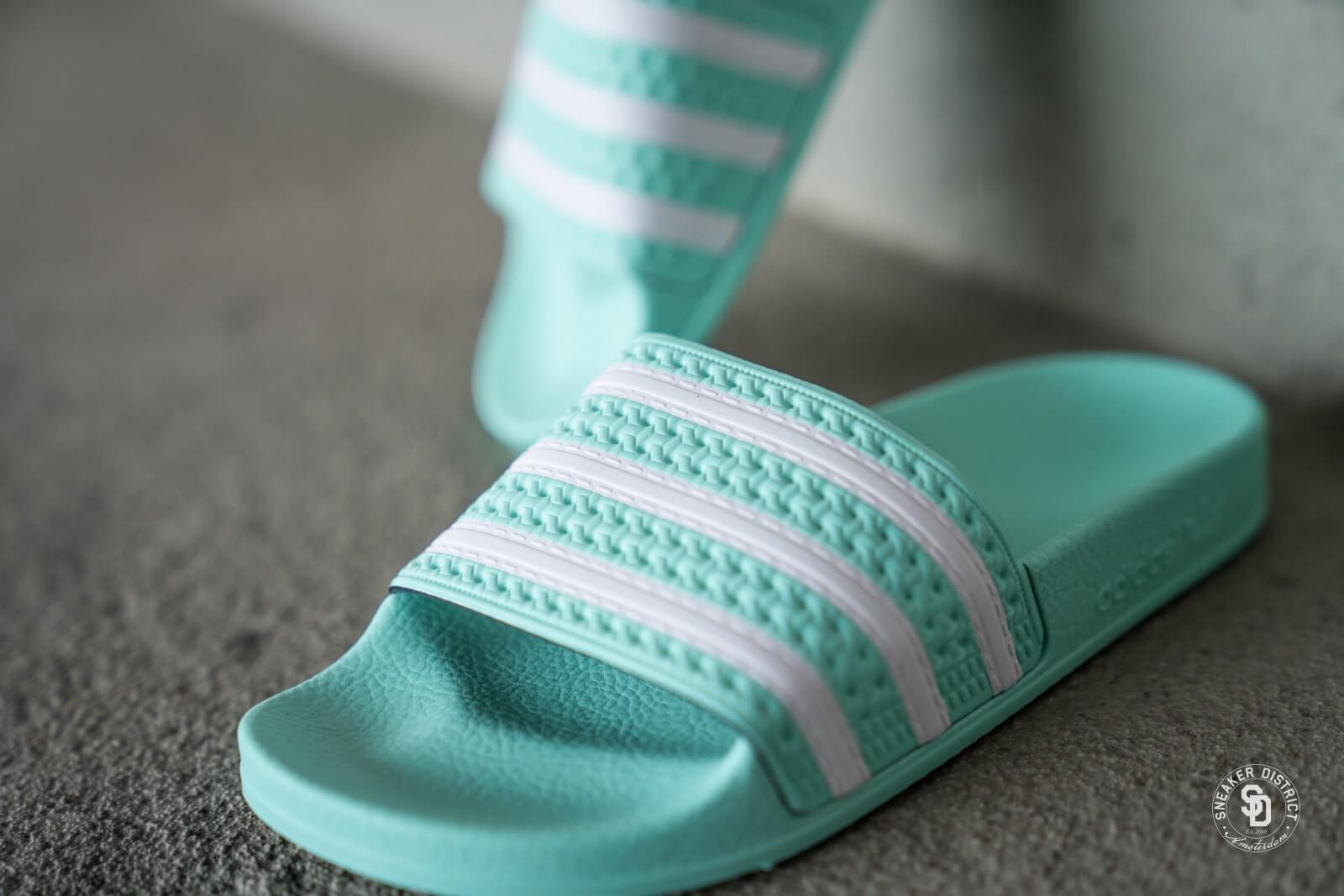 Adidas Adilette Mint/White - CG6538