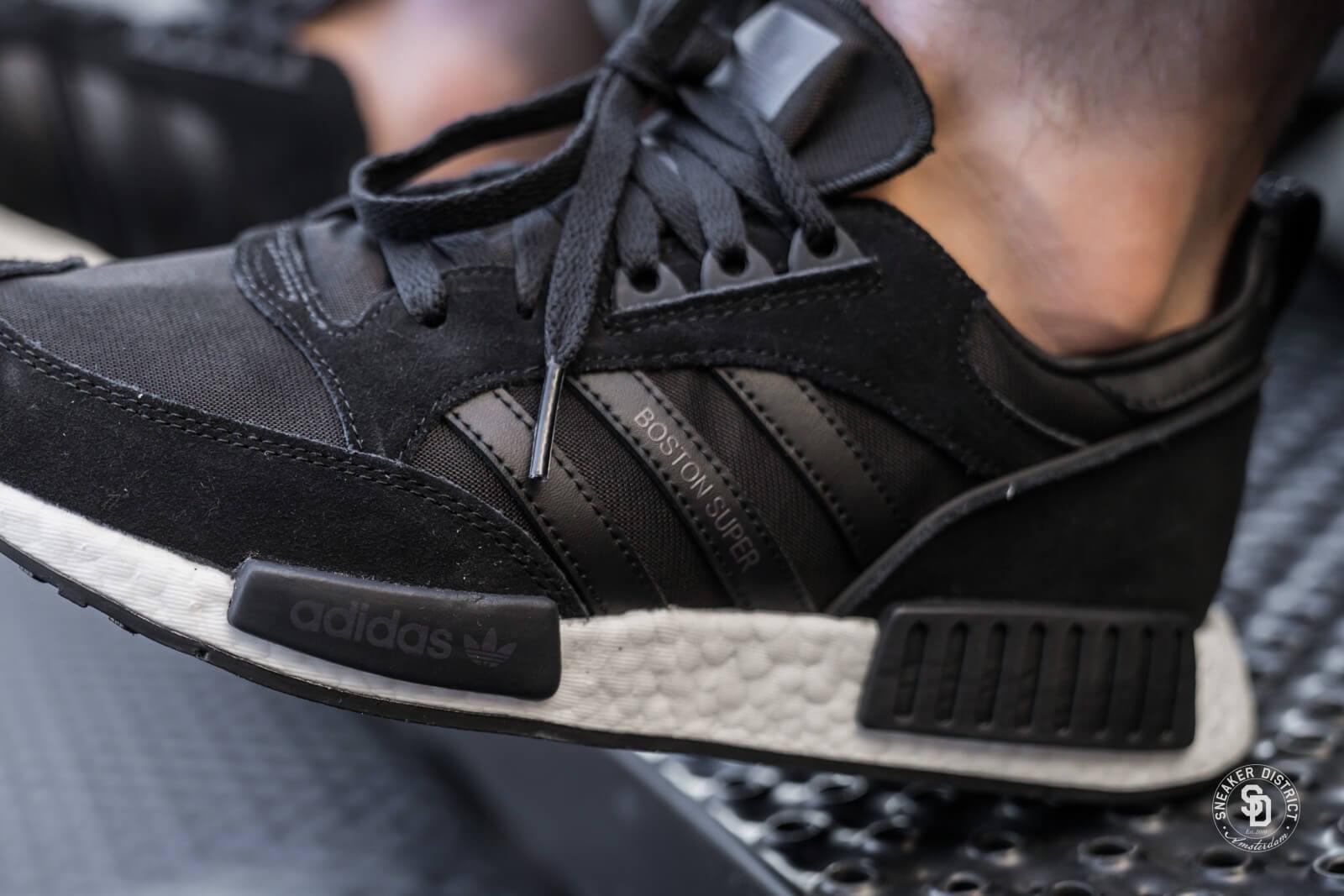Adidas Boston x Super R1 Core Black