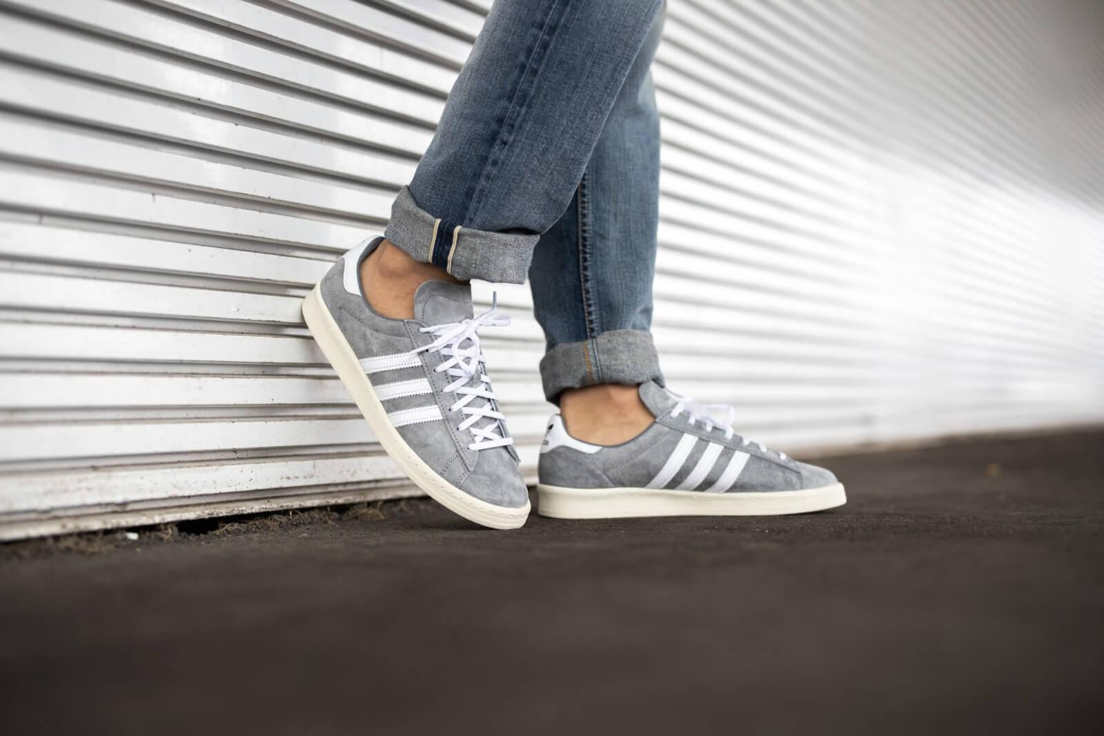Adidas Campus 80s Grey/Footwear White-Off White