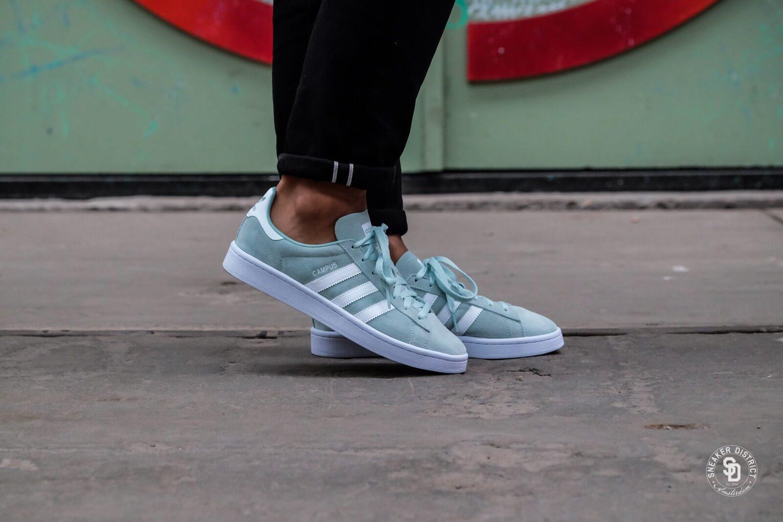 tinción emitir tijeras  Adidas Campus Ash Green/Running White - DB0982