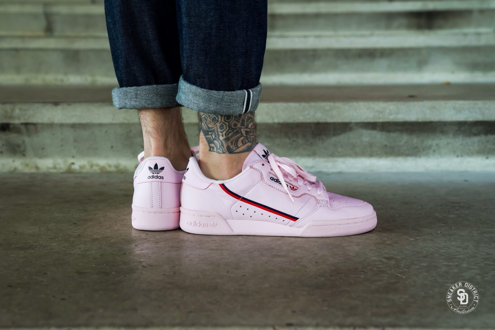 Adidas Continental 80 Clear Pink