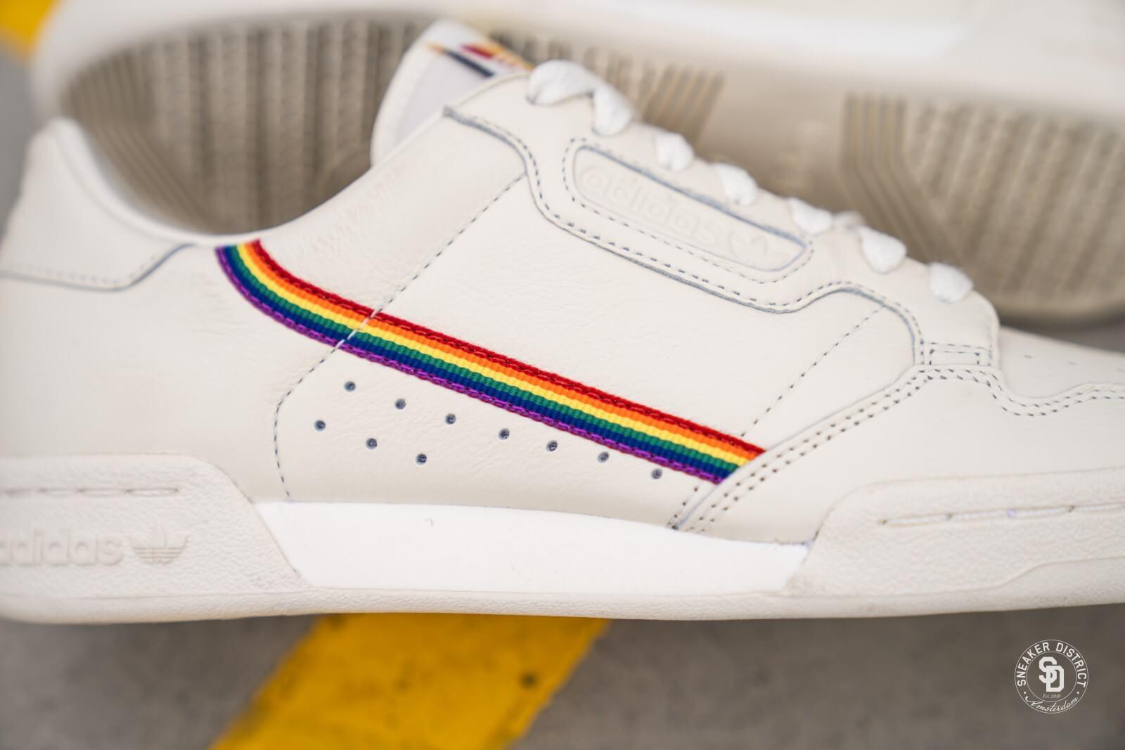 Embajada Suradam riesgo  Adidas Continental 80 Pride Off White - EF2318