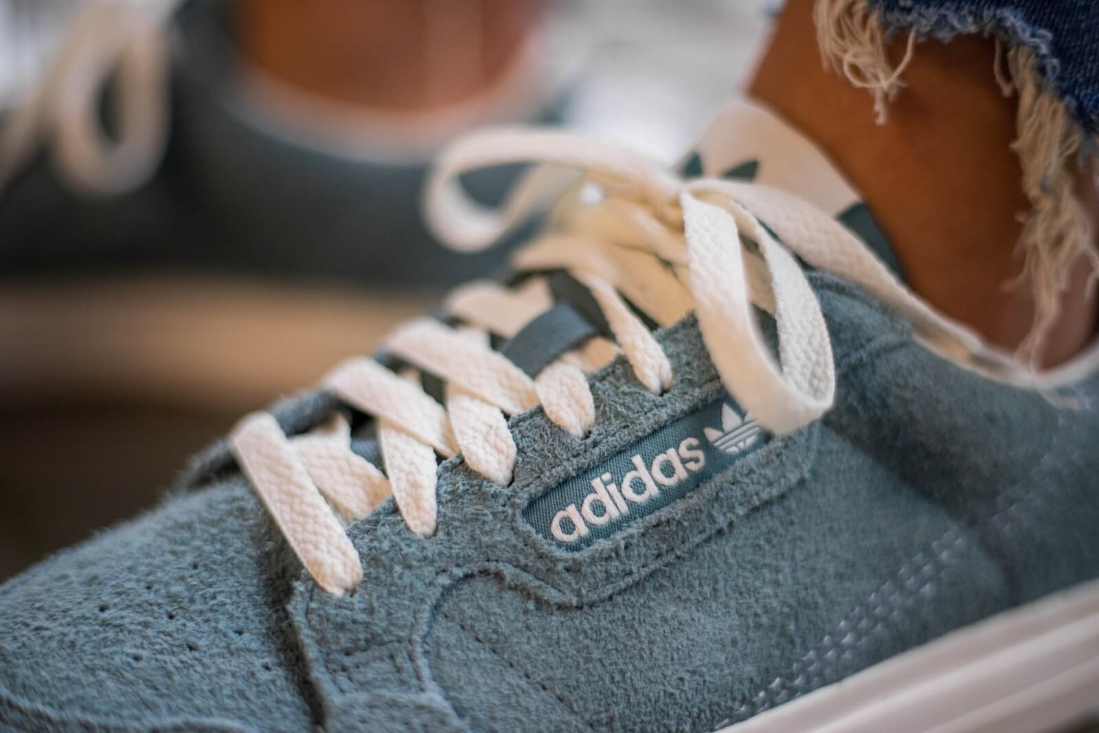 Adidas Continental Vulc Raw Green/Off