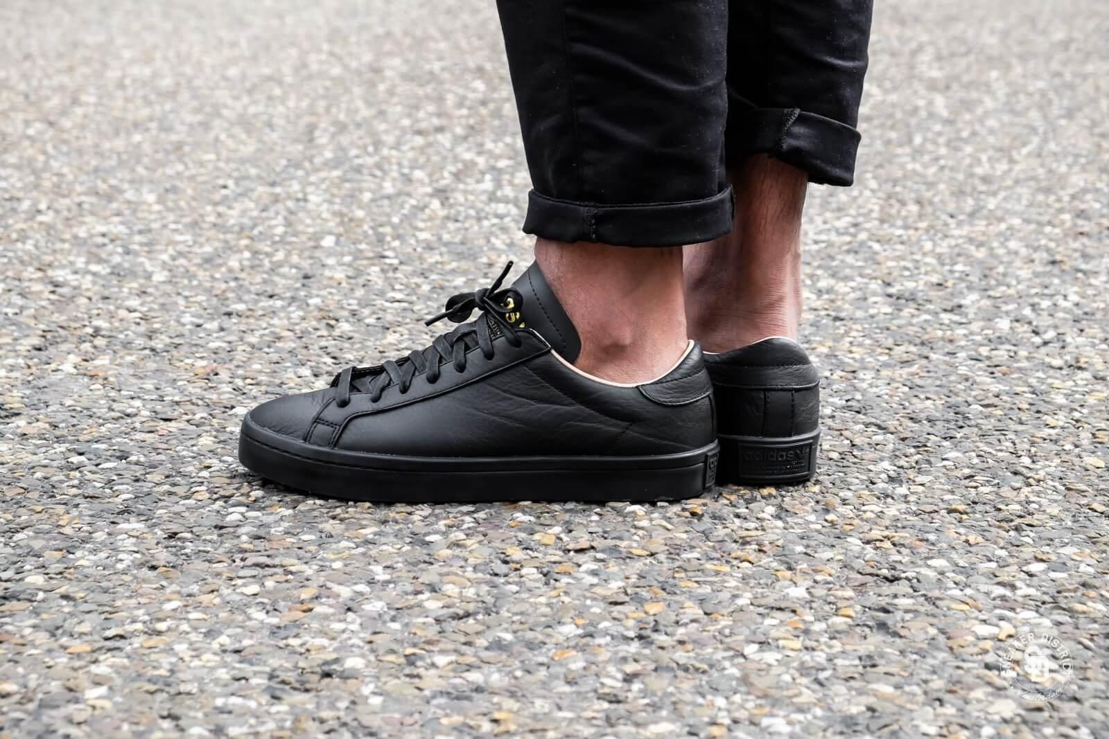 Adidas Court Vantage Leather Black