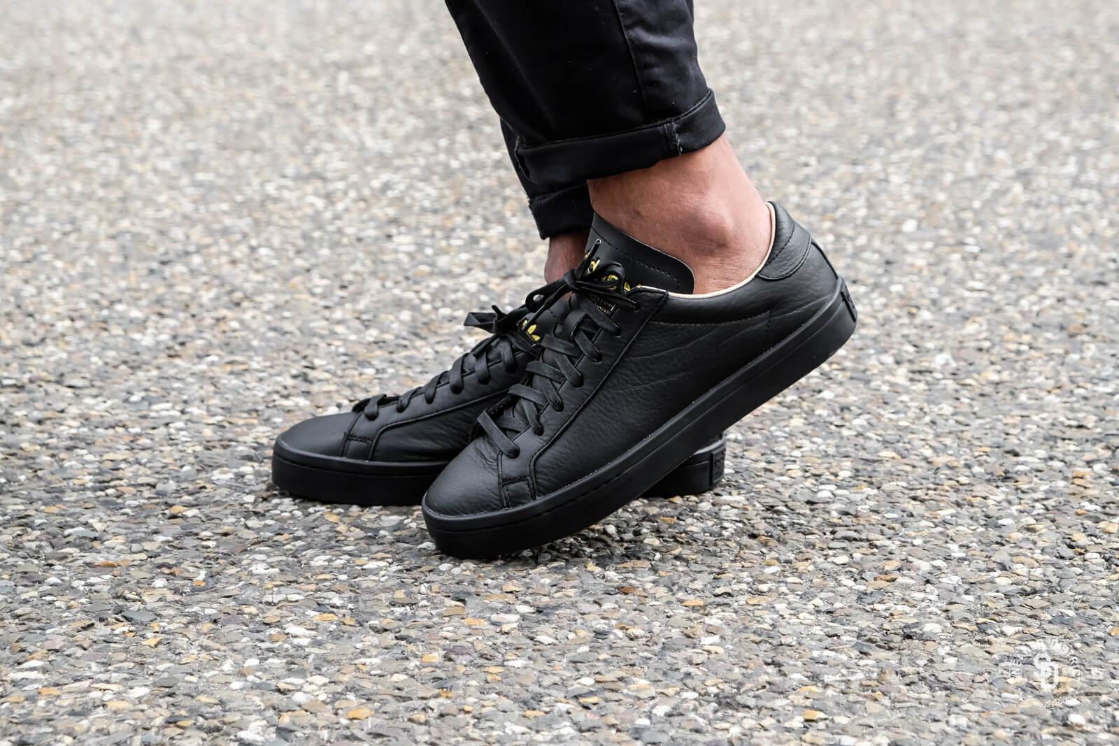 Adidas Court Vantage Leather Black/Black