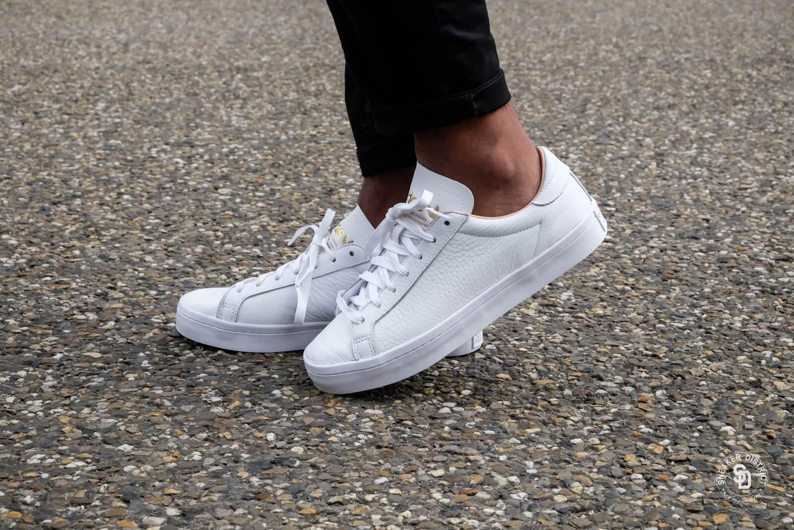 Adidas Court Vantage Leather White/White