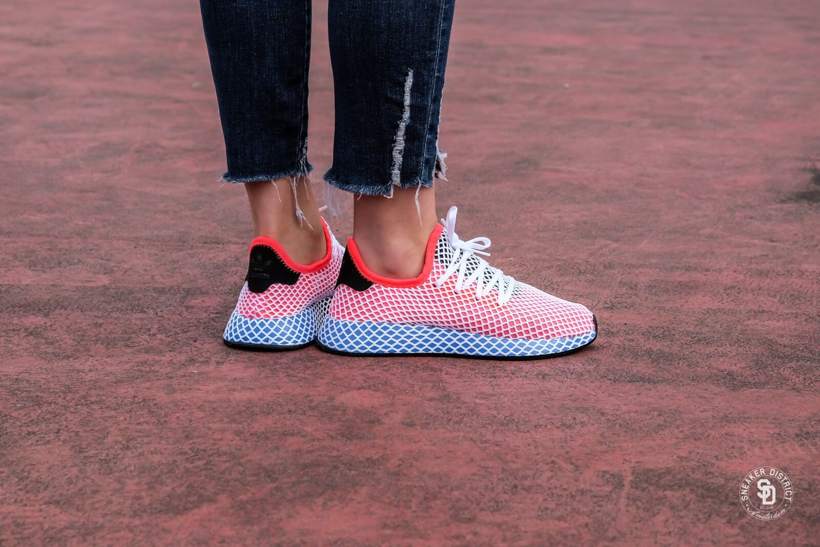 Adidas Deerupt Runner Junior Solar Red