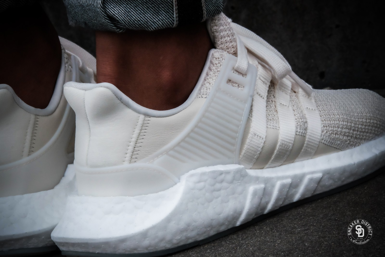 Adidas Eqt Support 93 17 Off White Footwear White Bz0586